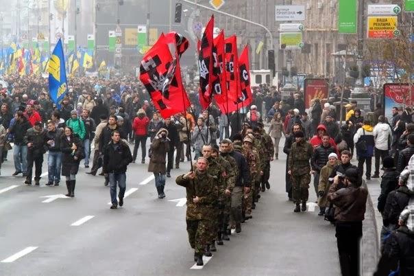 Resultado de imagen de Fascistas en Ucrania