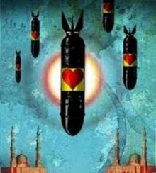 Según un medio alemán en Oriente Medio se utilizan bombas 'buenas' por parte de EEUU y sus aliados, mientras Rusia y otros que no están en la órbita norteamericana utilizan bombas 'malas'