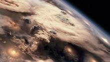 Aspecto que ofrecería nuestro planeta en una guerra termonuclear