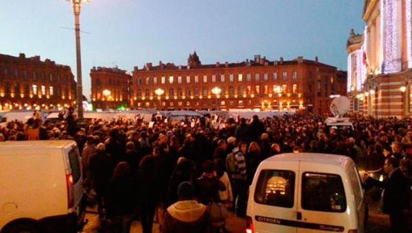 París. manifestación de repudio al ataque terrorista contra 'Charlie Hebdo' | Telesur