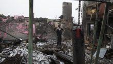 El régimen fascista de Ucrania ataca la región de Donbass