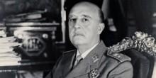 El dictador fascista español Francisco Franco
