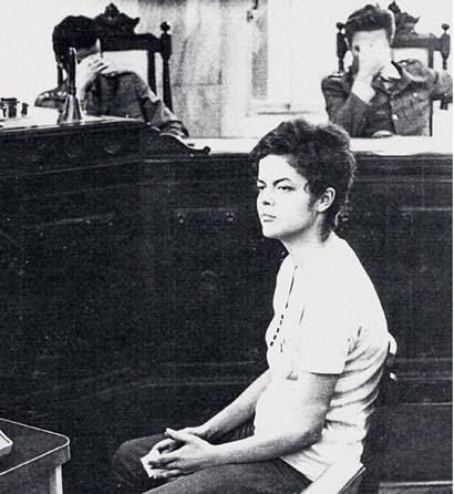 Dilma Rousseff juzgada y condenada por la dictadura brasileña