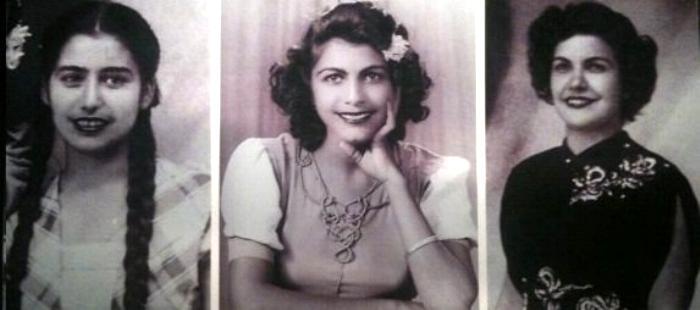María Teresa, Minerva y Patria Mirabal, asesinadas por orden del dictador Trujillo