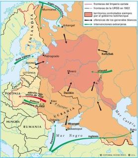 La victoria de los soviéticos liderados por Lenin en la Revolución de Octubre es la principal razón de los acontecimientos que transcurren a posteriori, debido a sus acciones políticas revolucionarias, que iniciaron la nacionalización de los servicios vitales del antiguo estado zarista, para hacerlos del Estado.
