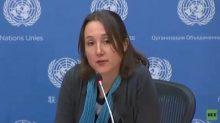 Eva Barlett en la ONU pone en evidencia las mentiras de Occidente sobre Siria