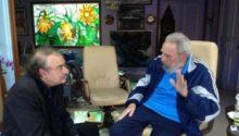 Fidel Castro e Ignacio Ramonet