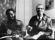 Fidel Castro y Malcolm-X