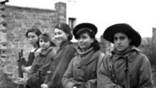 Milicianas republicanas durante la Guerra Civil en España