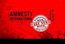 Amnistía Internacional falsea información sobre Siria