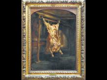 El Buey Desollado, cuadro de Rembrandt como metáfora de la Argentina desollada por el neoliberalismo