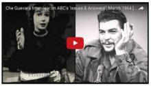 El Che Guevara entevistado por periodistas norteamericanos