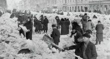 Leningrado fue sitiada por los nazis durante 900 días