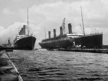 Las naves gemelas Titanic y Olympic