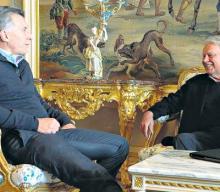 Mauricio Macri y Felipe González