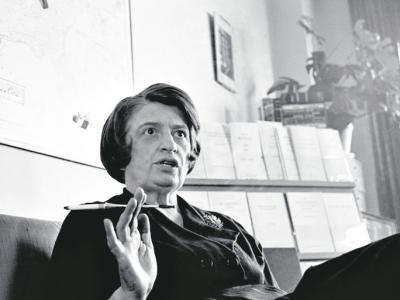 Ayn Rand, escritora de culto de los fanáticos ultraliberales.