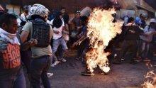 Venezuela, linchamiento de chavistas por parte de la oposición fascista
