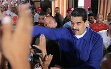Nicolás Maduro, presidente de Venezuela, celebra el apoyo masivo recibido en la convocatoria de la ANC