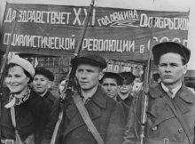 Gran Revolución Socialista de Octubre: Obreros armados
