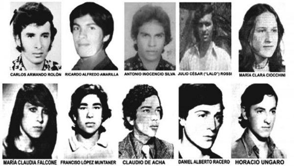 Noche De Los Lapices Estudiantes Asesinados Por La Dictadura Miltar Argentina