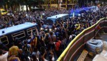 Agresión fascista del Estado español a Catalunya
