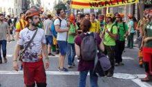 Movilización por la independencia de Catalunya