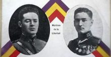Fermín Galán y Ángel García, sublevados por la República española
