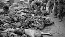 Masacre de coreanos perpetrada por los invasores norteamericanos en la Guerra de Corea