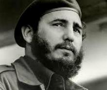 Fidel Castro, líder revolucionario cubano