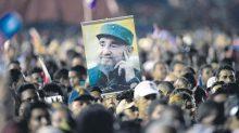 Homenaje a Fidel Castro, líder revolucionario cubano
