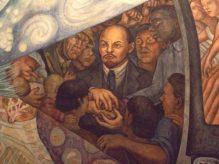 Retrato de Lenin, en el mural El hombre en el cruce de caminos (1934), de Diego Rivera
