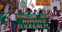 Política fascista de inmigración en EEUU