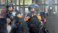 Represión policial en la Argentina de Macri