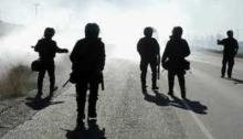 Represión policial en la Patagonia argentina
