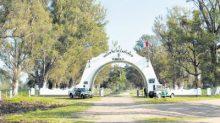 El cuartel de Los Pumas, en Santa Felicia, Santa Fe, Argentina