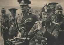 Mihai I y el Mariscal Antonescu