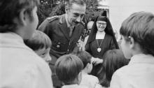El genocida dictador argentino Jorge Rafael Videla