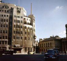 Broadcasting House, la icónica sede de la BBC en 1959