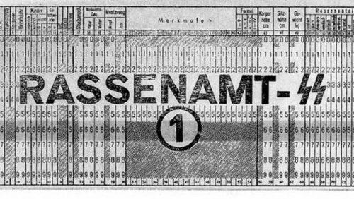 Tarjeta perforada de IBM para los nazis | Edwin Black