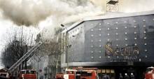 Incendio de la sala de fiestas Scala en Barcelona