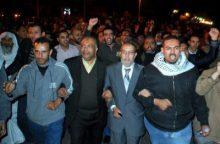 Manifestación de los Hermanos Musulmanes en El Cairo, Egipto