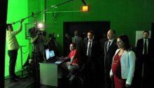 Visita de Vladimir Putin a las nueva sede central del canal RT | Wikimedia