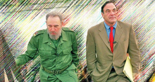 "FILE - In this undated file publicity photo released by HBO, Cuba's leader Fidel Castro, left, walks with Oliver Stone during Stone's making of the HBO documentary ""Looking for Fidel"" in Havana, Cuba. Castro has died at age 90. President Raul Castro said on state television that his older brother died late Friday, Nov. 25, 2016. (HBO, Rose Serra via AP, File)"