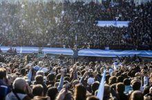 Acto multitudinario en Argentina en apoyo a Cristina Fernández de Kirchner